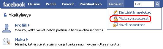 Fb_yksityisyys