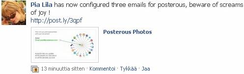 Facebook-posterous