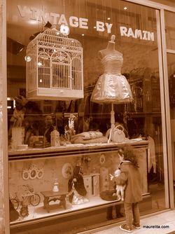 Vintage-shopping